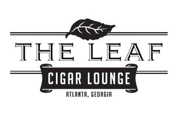 Cigar Lounge Atlanta GA The Leaf Cigar Lounge Logo