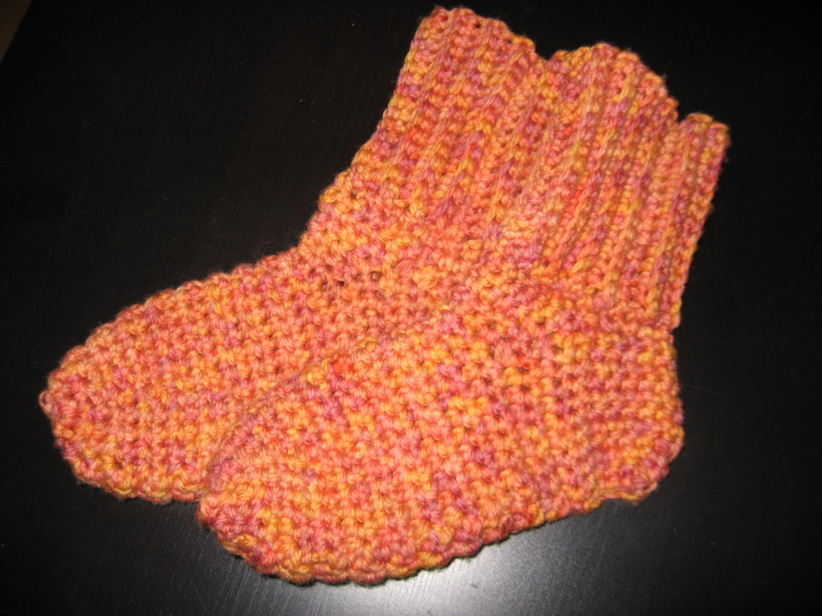 Crochet by TashiaB: infinity cowl and crochet socks