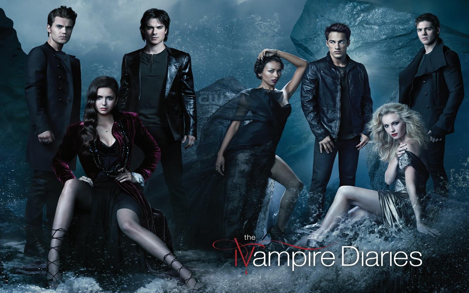 Vampire Diaries Cast T...