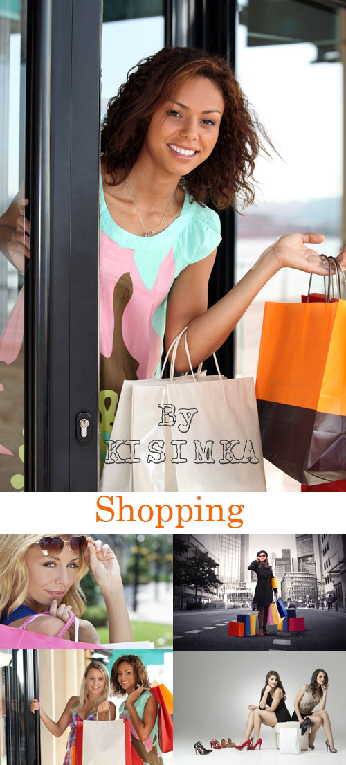 Stock Photo: Shopping 3