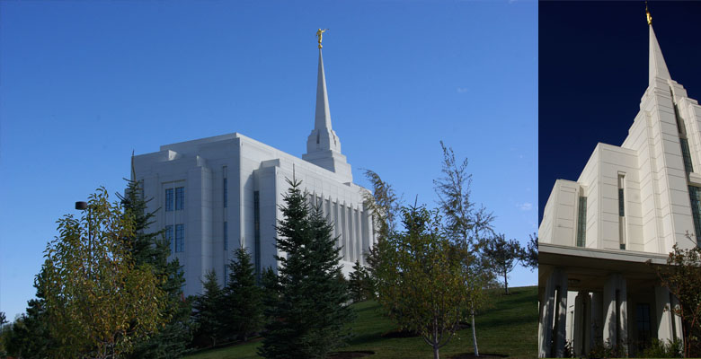 Rexburg Idaho Temple, October 11, 2012