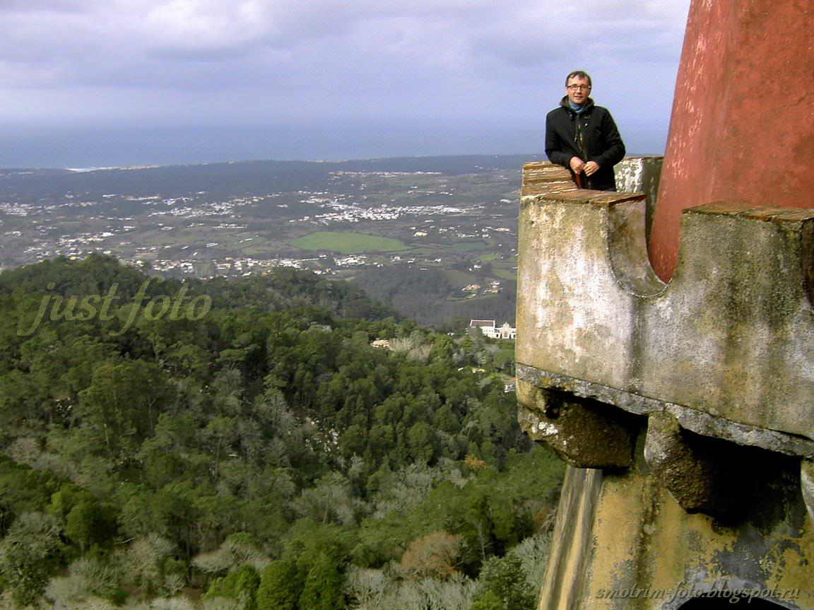Я на башне Pena Palace фото