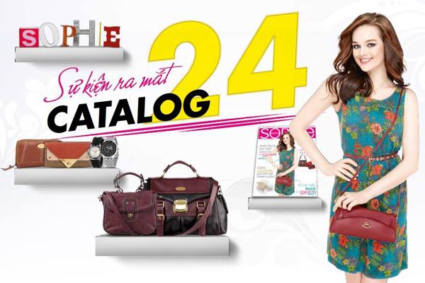 Sự kiện ra mắt Catalog 24 Sophie