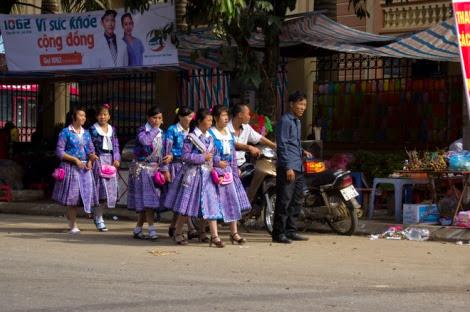 moc chau pys travel002 Điểm lại những hình ảnh nhộn nhịp Tết độc lập người Mông