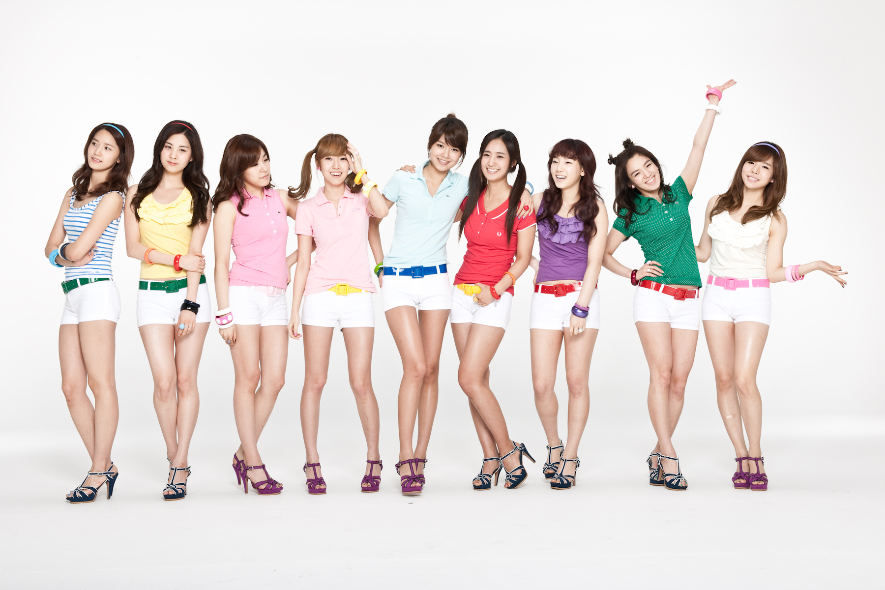 Girl generation red hot talent sexy music