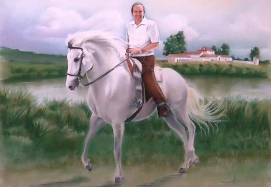 caballo-jinete-corcel-cortijo-paisaje