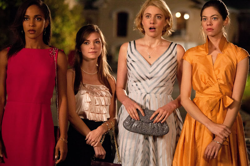 Megalyn Echikunwoke, Carrie MacLemore, Greta Gerwig and Analeigh Tipton in Damsels in Distress