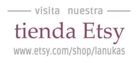 Lanukas en Etsy