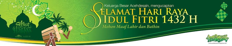 Free Download Template Banner Idul Fitri vector cdr acehdesain
