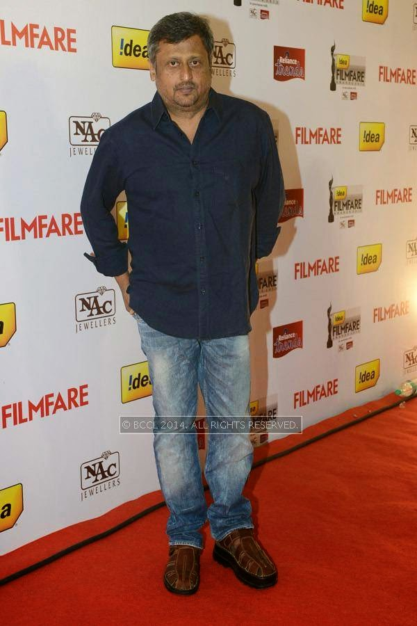 Film director Dharani during the 61st Idea Filmfare Awards South, held at Jawaharlal Nehru Stadium in Chennai, on July 12, 2014.