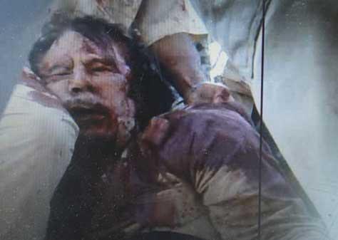 Muerte de Muamar el Gadafi