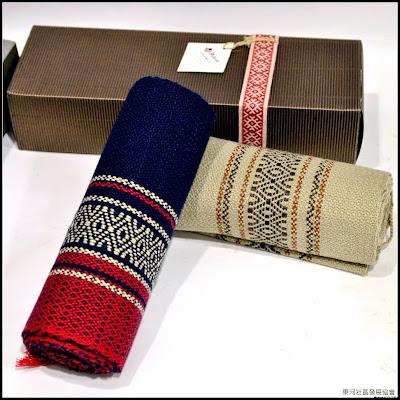 手織羊毛圍巾