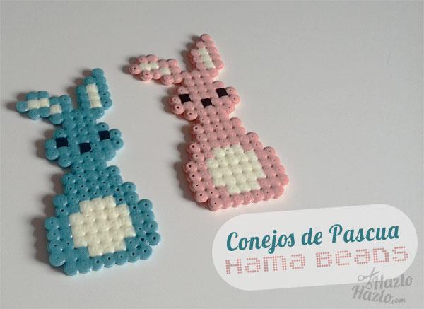 Conejos Hama Beads