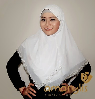Jilbab Amarylis model Classic Renda CR