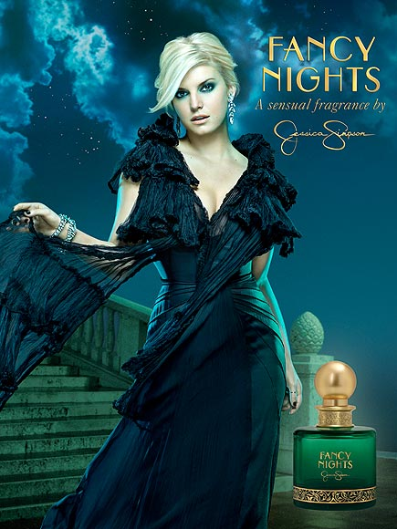 HOT ACTRESS JESSICA SIMPSON FAMOUS PERFUME FANCY NIGHTS