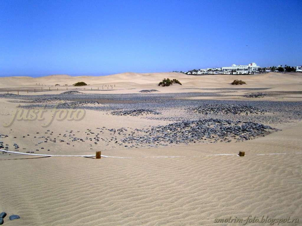 Маленькая Сахара на Гран Канарии фото