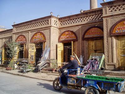 シルクロード旅行記・新疆ウイグル|カシュガル旧市街