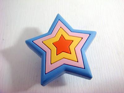 裝潢五金品名:S172-星型安全取手規格:單孔(50*50m/m)顏色:藍色玖品五金