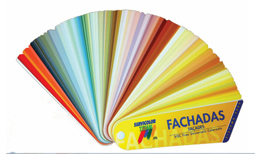elegir el color de la pintura