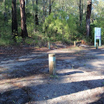 Numbered camping area