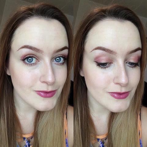 up the amp, mac, mac cosmetics, anastasia beverly hills, motd, mua, cat eye, eyeliner, purple, ombre, mac cosmetics, sleek, instagram, beauty blog