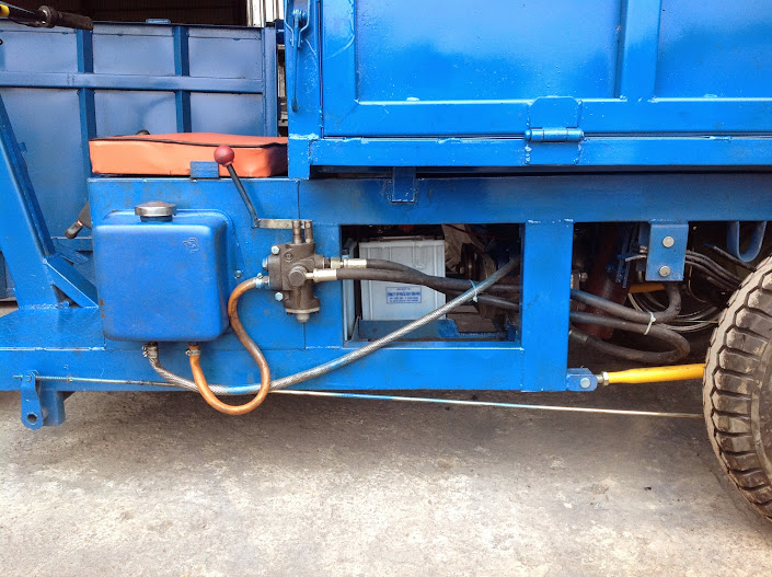 Động cơ thủy lực xe ben chạy điện