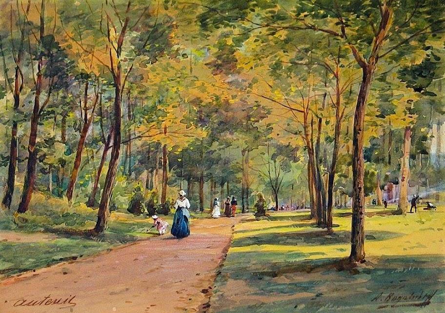 Alexey Bogolybov - Bois de Boulogne