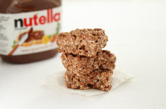 Nutella Rice Krispies Treat | Kirbie's Cravings | A San Diego food ...