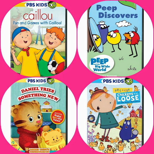 New PBS KIDS DVDs