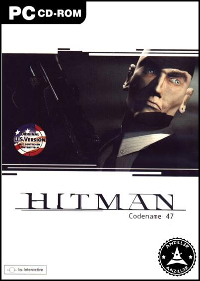 Hitman Codename 47 cover pc