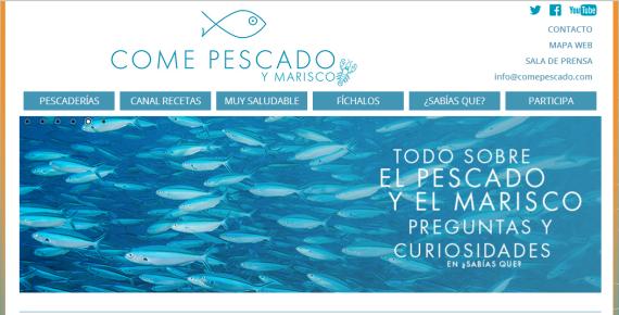 Una página web para promocionar el consumo de pescado en la región