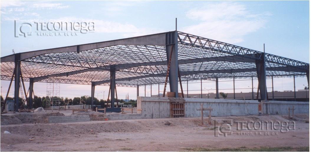 Estructuras metalicas tecomega estructura metalica nave - Diseno nave industrial ...