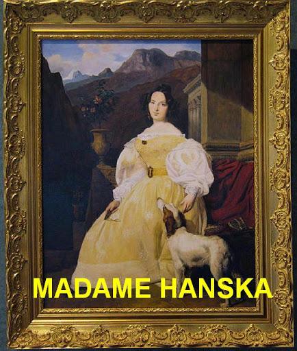 Ewelina Hanska, l'épouse de Balzac