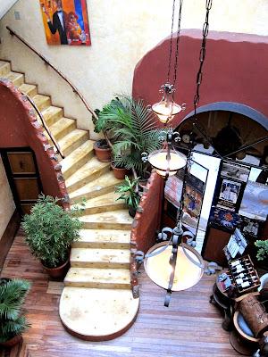 La Comedie restaurant in La Loge hotel in La Paz Bolivia