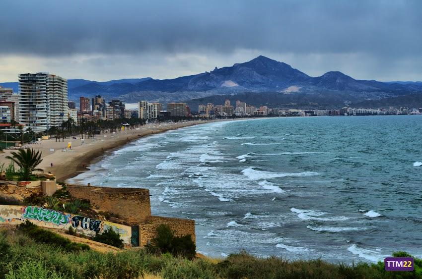 Nikon D5100, 18-55 mm, Paisajes, Playa de San Juan, Alicante, Cabo de la Huerta, Cabeçó d'Or, HDR,