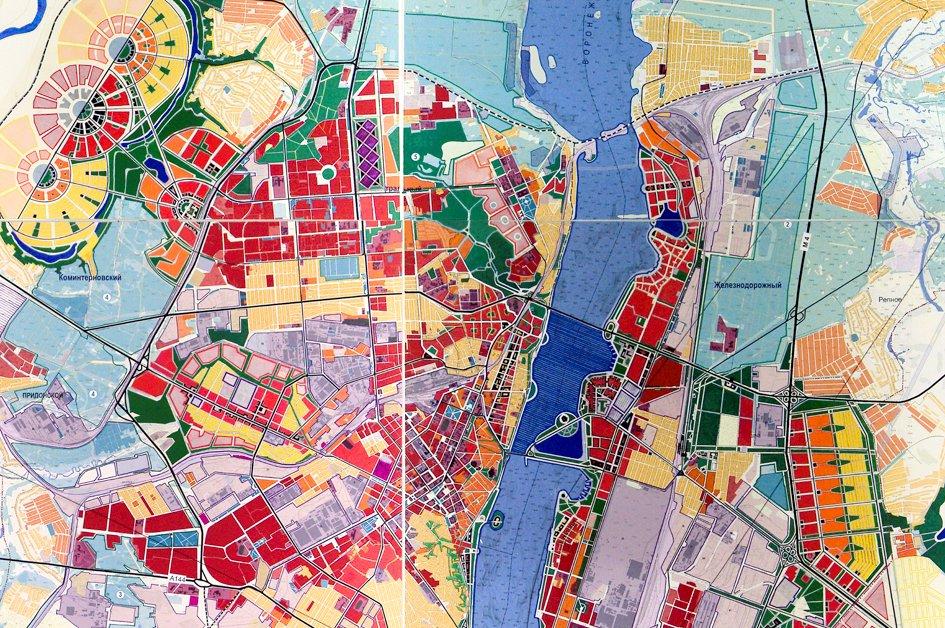 Генеральный план городского округа город Воронеж