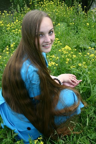 Long Hair Photo Tricologic Surgical hair restoration
