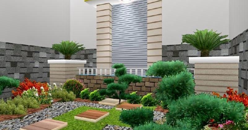 contoh model taman rumah minimalis gallery taman minimalis