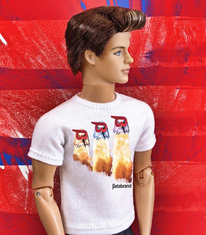 Rocket Eagles Ken Doll