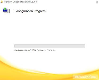 Khắc phục lỗi Office Configuration Progress 2007 - 2010 - 2013 - 2016