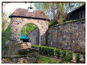 Na zdjęciu brama wewnętrzna zamku Czocha