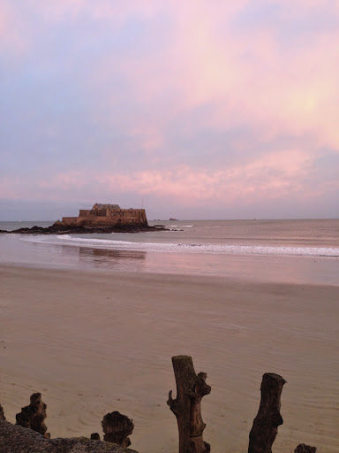Morning walk in St Malo. From 100 Places in France Every Woman Should Go