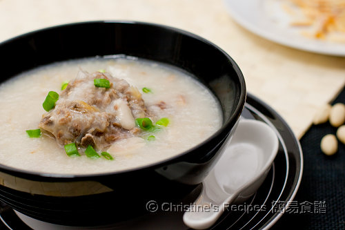 柴魚花生豬骨粥 Dried Stockfish, Pork Bones and Peanut Congee02
