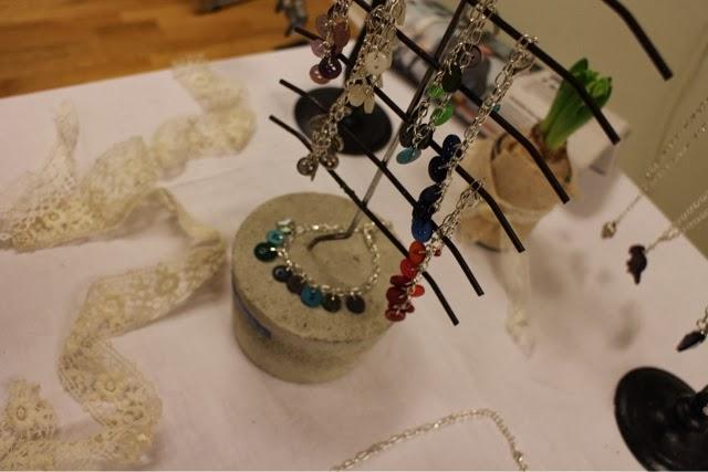 armband, smycken, knappar