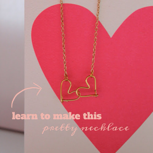Make your own heart necklace - a jewellery class