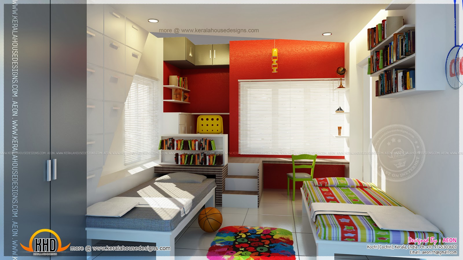Apartment Interior Design Kerala apartment interior designsaeon, cochin - kerala home design