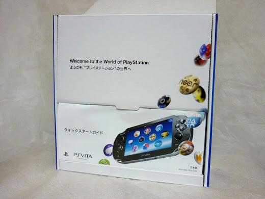 PS Vita 開封