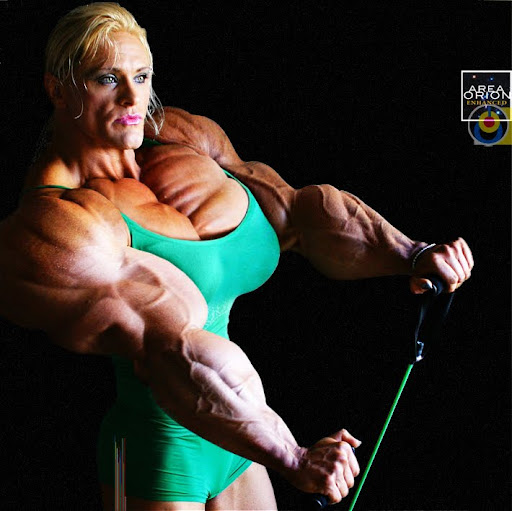 area orion female muscle growth female bodybuilder areaorion orion