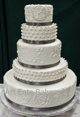 Red And White Wedding Cakes 40 Amazing Two tier elegant off