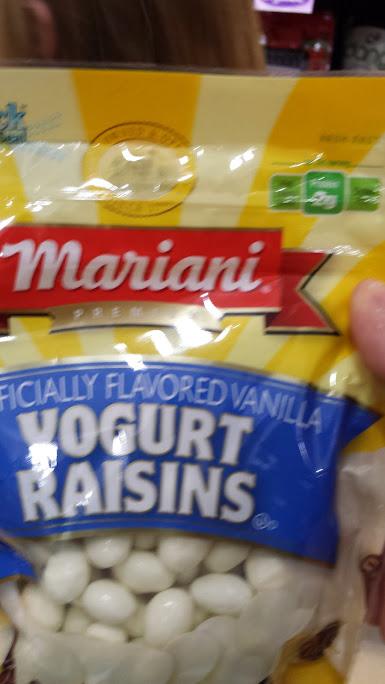 yogurt raisins